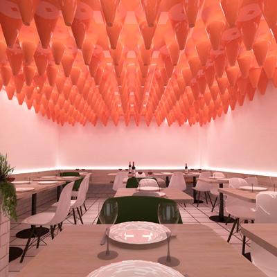 Diseño del restaurante andaluz Triana para que sea más Triana