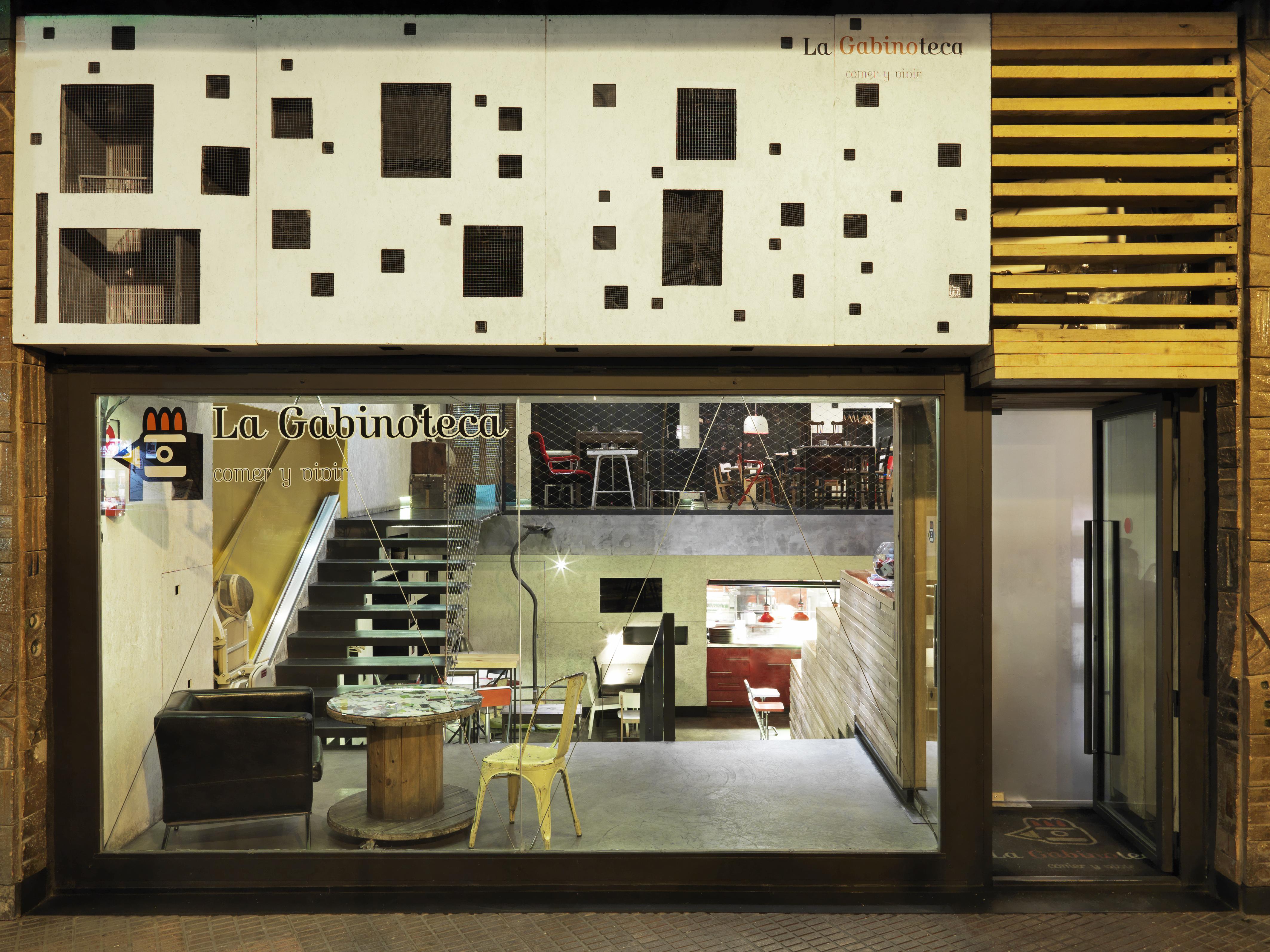 Arquitecturas eficientes en restaurante la gabinoteca - Arquitectura invisible ...