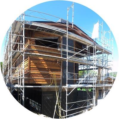 Construcción de una vivienda eficiente y sana